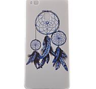 Campanula Pattern TPU Phone Case For Huawei Ascend P9 / P9 Lite