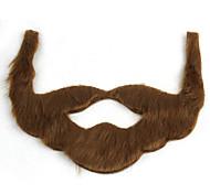 feriado jogo papel interessante barba de pelúcia marrom preto cinza