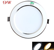 Zweihnder Wiring 9W 4Inch 750LM 3000-3500 / 5500-6000K 18x5730 SMD LEDs Warm/White Light Ceiling Light (AC 100-265V)