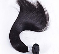 """8 """"-26"""" color negro natural del pelo virginal brasileño pelo lacio cabello humano primas lía venta"""