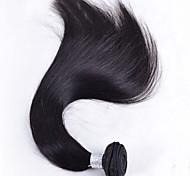 "50g 1pcs 8""-26"" Brazilian Virgin Hair Natural Black Color Straight Hair Raw Human Hair Bundles Sale"