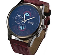 Men's Fashion Nylon Wrist Watches Canvas and Nylon Band