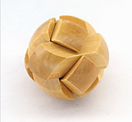 Mode Holz Spielzeug Puzzle Unlock-Schleife Dekompression