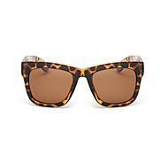 Sunglasses Unisex's Fashion Polarized / 100% UV400 Square Tortoiseshell Sunglasses