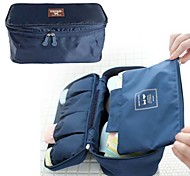 Portable Women Travel Underwear Storage Bag In Navy