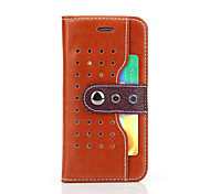 West Cowboy Leather Wallet Stand Case for iPhone 6S