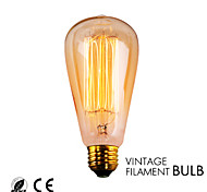 GMY 1PC ST64 13Molybdenum wire Vintage bulb 40W E26 Warm White AC120V Decorate bulb