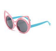 Kids Fashion Cute Hollow Rabbit Ears Round Sunglasses (Random Color)