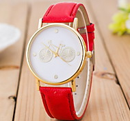 Men's Fashionable  Casual Wrist  Watches Leather Band Wrist Watch Cool Watch Unique Watch