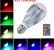 HRY® E27 10W LED RGB Magic Lamp Light Bulb Color Changing Spotlight with Remote Control(85-265V)