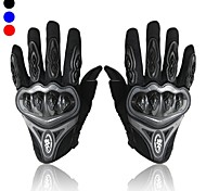Motorcycle Full Finger Gloves Men's Bicycle Drop Resistance Motocross Racing Breathable Gloves Tactical Red/Black/Blue