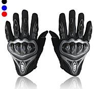 Guantes de moto Dedos completos Fibras textiles sintéticas / ABS M / L / XL Rojo / Negro / Azul
