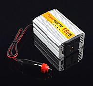 ziqiao 150w portátil inversor de corriente para automóvil adapater convertidor cargador transformador DC 12V a 220V AC