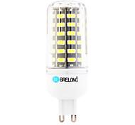 Bombillas LED de Mazorca T G9 12W 64 SMD 1200 lm Blanco Cálido / Blanco Fresco AC 100-240 V 1 pieza