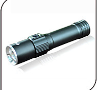 Lights LED Flashlights/Torch LED 240 lumens Lumens 3 Mode LED 18650 Adjustable Focus / Waterproof / Impact Resistant / Small Size