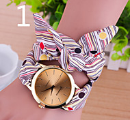 Women's Fashion Geneva Fabric Quartz Watch(Assorted Colors) Cool Watches Unique Watches