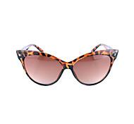 Gafas de Sol mujeres / Chica's Moda 100% UV400 Ojo de Gato Concha de Tortuga Gafas de Sol Completo llanta