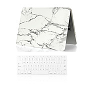 "Case for Macbook Air 11.6""/13.3"" Marble ABS Material 2 in 1 Marble Full Body Case + Keyboard Cover"