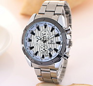 Men's Fashion Calendar Business Stainless Steel Quartz Watch Wrist Watch Cool Watch Unique Watch