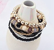 New Arrival Bohemian Multilayer Strand Bracelets Daily / Casual 1pc Hot Sale