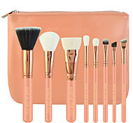 8 PCS Pink Makeup Brushes Set Goat Hair / Synthetic Hair Professional / Travel Wood Face / Eye / Lip MAKE-UP FOR YOU
