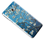 For Samsung Galaxy Case Embossed Case Back Cover Case Tree TPU Samsung On 7