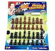 Chess/Black And White 2 In 1 Baord Game