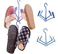 tipo de atividade dobrar secagem do sapato ar sapatos rack de cor aleatória