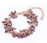 New Arrival Bohemian Multicolor Acrylic Strand Bracelets Daily / Casual 1pc Hot Sale