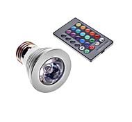 E26/E27 3 W 1 240 LM Color-Changing Spot Lights AC 220-240 V