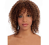 Europe And The Detonation Model Of Light Brown sShort Curly Wig