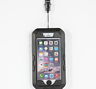 Dry Boxes For Cellphone Waterproof Touch Screen Diving / Snorkeling PVC Black