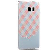 siliconen materiaal rugdekking voor Samsung Galaxy Note 5