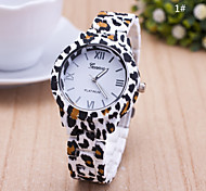 Women's European Style Leopard Print Fashion Wrist Watch Cool Watches Unique Watches