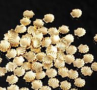 hermosa joyería de plata de oro del clavo de 3 mm mentales (1000pcs)