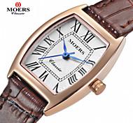 MOERS Men's ellipse Dial Casual Watch Alloy Strap Japanese Quartz Watch Wrist Watch (Assorted Colors) Cool Watch Unique Watch