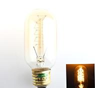1 pezzo Zweihnder E26/E27 40W 1 COB 500 lm Bianco caldo G45 edison Vintage Lampadine LED a incandescenza AC 220-240 V