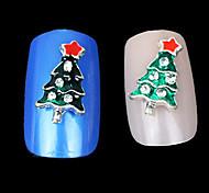 милые рождественские украшения капельного умственная сплава ногтей
