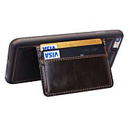 De haute qualité en cuir pu tomber boîtier étanche avec carte de kickstand cas fente de téléphone pour iphone 6s / 6 / 6s plus / 6 plus