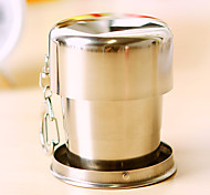 1PC 7.5*3cm Creative Stainless Steel Telescopic Cup To Travel