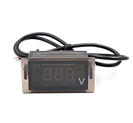 Motorcycle DC 12-24V LED Digital Display Voltage Voltmeter Panel