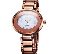 WEIQIN®Brand Oval Rhinestone Dial Coffee Silver Steel Strap Women Watches Office Lady Fashion Dress Watch Clock Cool Watches Unique Watches