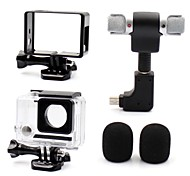 Accessori GoPro Smooth Frame / custodia protettiva / Microfono / Accessori Kit Stile Mini / Tutto in uno / Conveniente / Anti-polvere, Per