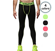 Vansydical Men's Quick Dry Fitness Bottoms Green / Red / Gray / Orange