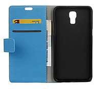 Flip Cover Wallet Style with Card Slot for LG X Screen Case Fashion Cass Grain Pattern Texture Case(Assorted Colors)