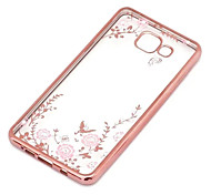 Secret Garden Flower Butterfly Diamond Soft TPU Cover for Samsung Galaxy J Series