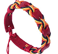 COOL New Fashion Personality Woven Style Leather Bracelets