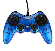 USB-900 Dual Shock Joypad for PC Blue