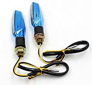 moto principale di girata indicatori di ambra luce lampeggiante 12v universale lampada 1.3W moto super luminosi