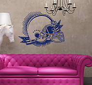 4049 Top Sale Amerian Football Helmet Wall Stickers Decals Vinyl Sticker Home Decor Wallpaper For Bedroom
